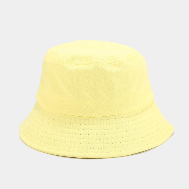 Breathable blue bucket hat on supplier for beauty-1