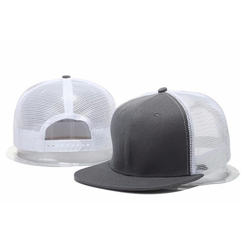 New Styles Blank Mesh Camo Baseball Caps Black Hip Hop Hats Mens Women Casquettes Cap