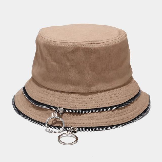 ACE solid mesh trendy bucket hats customization for beauty