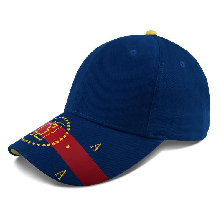 Printing Custom Logo Baseball Cap Embroidered Baseball Cap Hat With Metal Buckle