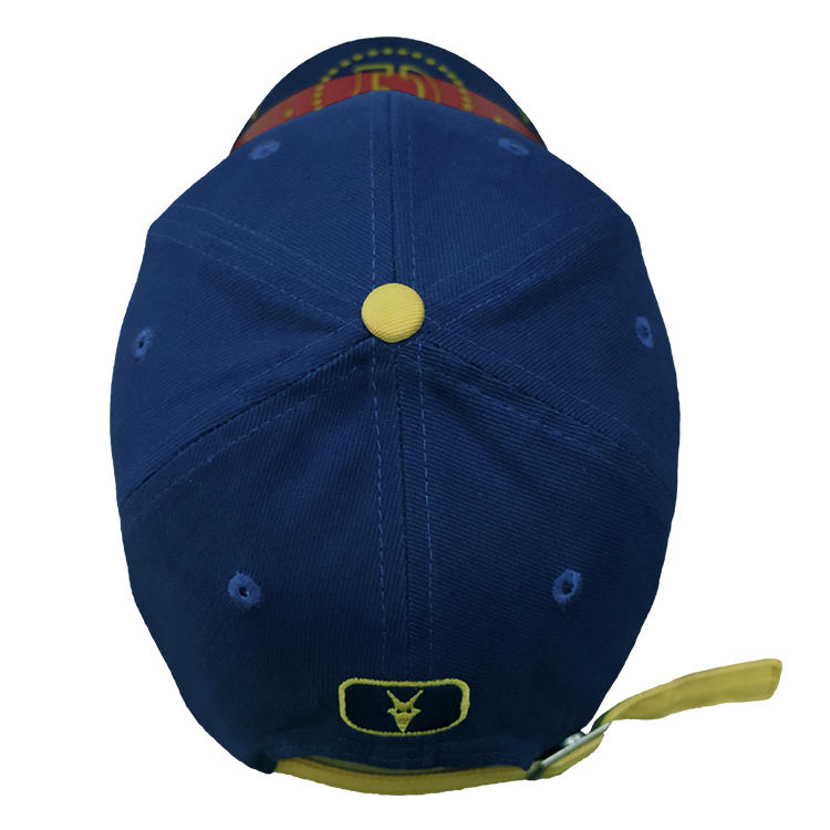 Printing Custom Logo Baseball Cap Embroidered Baseball Cap Hat With Metal Buckle