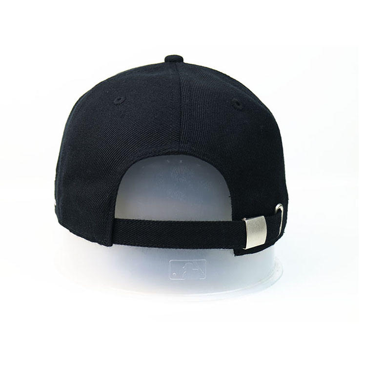 Hot sale custom design silk printing wolf ACE logo baseball caps hats