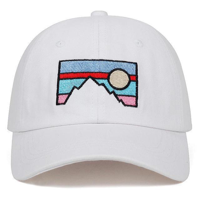New Style Baseball Cap Dusk Sunset Embroidery Cotton Hat Fashion Dad Hat
