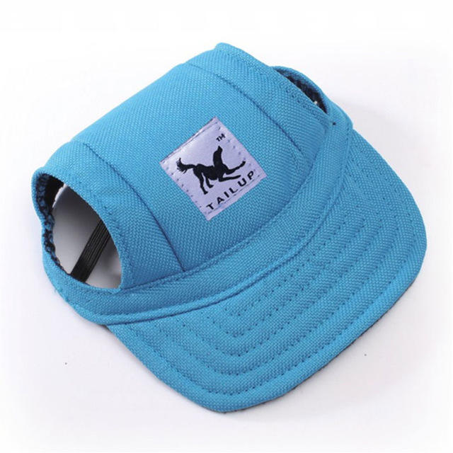 Pet Small Puppy Summer Print Cap Dog Baseball Visor Hat Outdoor Accessories Sun Caps