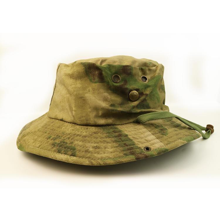 Wholesale small order plain wide brim designer bucket hats for outdoor activities