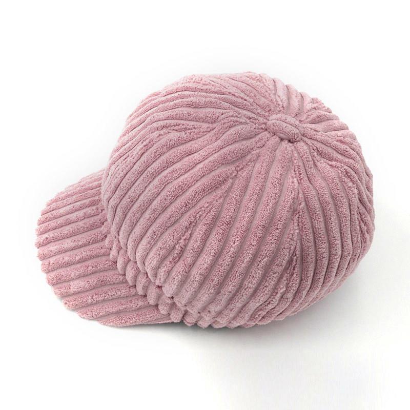 Corduroy Winter Caps For Women Solid Plain Octagonal Newsboy Cap Men Ladies Casual Wool Hat Winter Cap