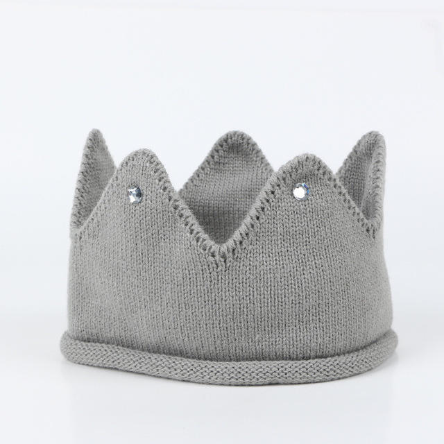 Winter Cute Baby Hat Props Knitted Newborn Girl Boy Turban Infant Toddler Cap Hat