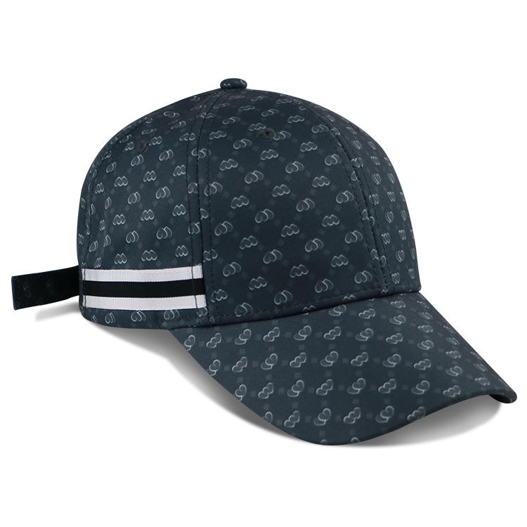 2020 Custom Structured Baseball Cap Sports Hat Strap Sublimation Printing BSCI