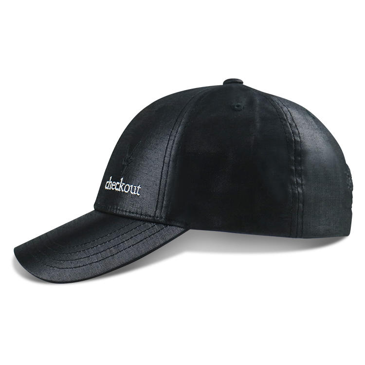 ACE Embroidery Logo Custom Baseball Cap Sports Hat Strap With Metal Buckle