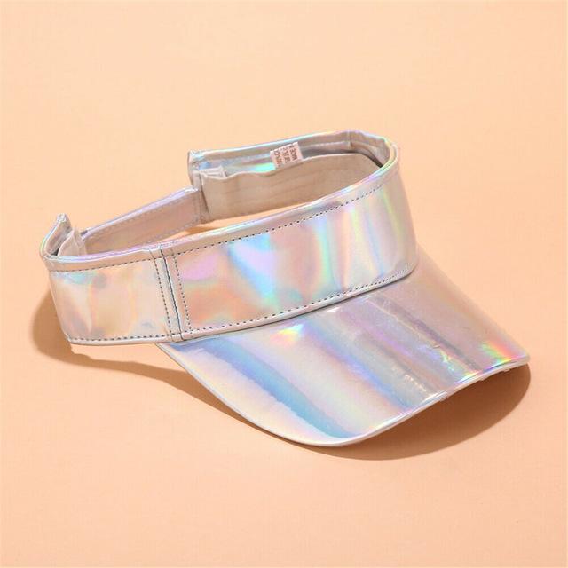 ACE solid mesh ladies sun visor hats bulk production for beauty-2