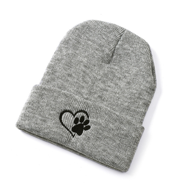 ACE solid mesh loose knit beanie free sample for fashion-2