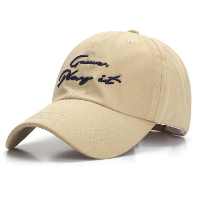2020 Hot Sales New Unisex Cotton Summer Embroidery Caps Snapback Hat Hip Hop Dad Cap Hat