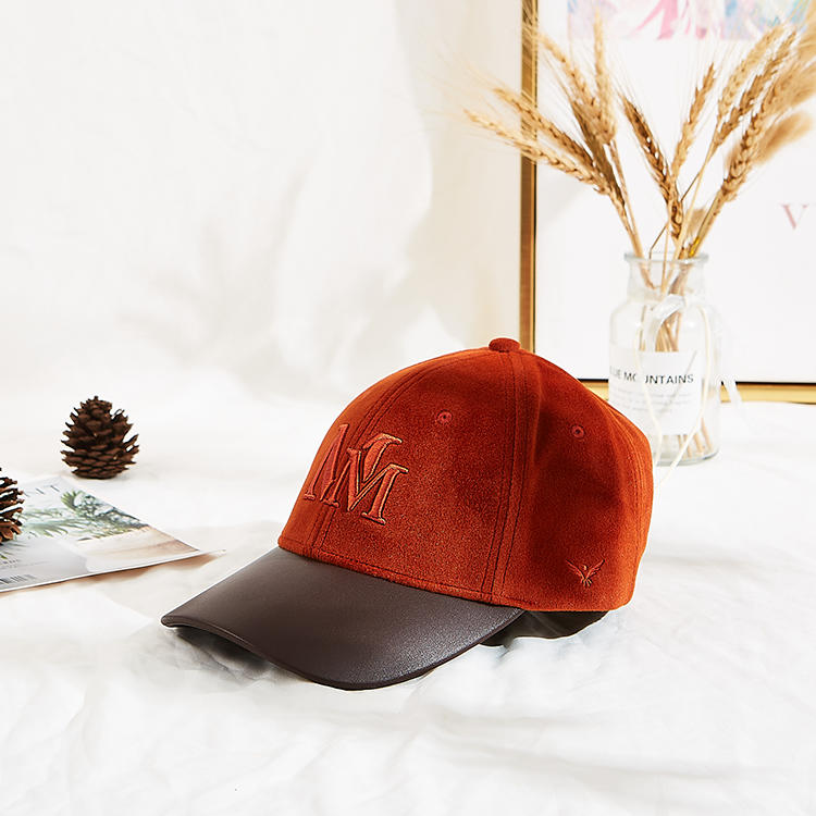 Hot Sales ACE Faux Suede Soft Fabric Gift Winter Warm Outdoors Baseball Cap Hat