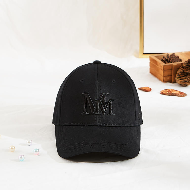 High Quality MM new style Custom Cotton 3D embroidery Logo Baseball Cap