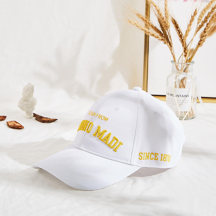 Wholesale Dad Hat Men Baseball Caps and Hats With flat embroidery logo
