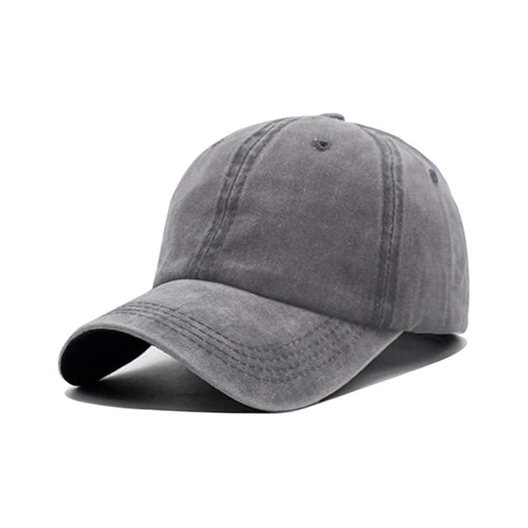 Unisex Vintage Washed Distressed Baseball Cap Twill Adjustable Dad Hat