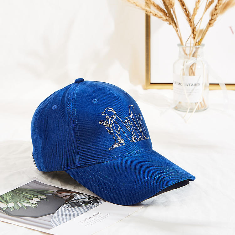 custom high quality 6 panel embroidery baseball cap corduroy hats