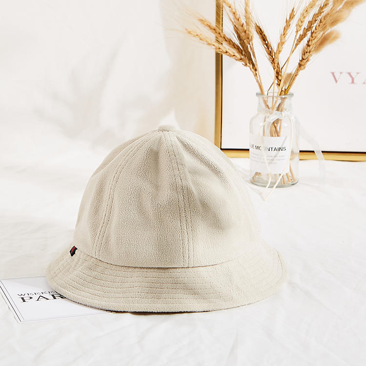 Mario Madi High Quality Winter Warm Fisherman Custom Logo Terry Cloth Bucket Hat