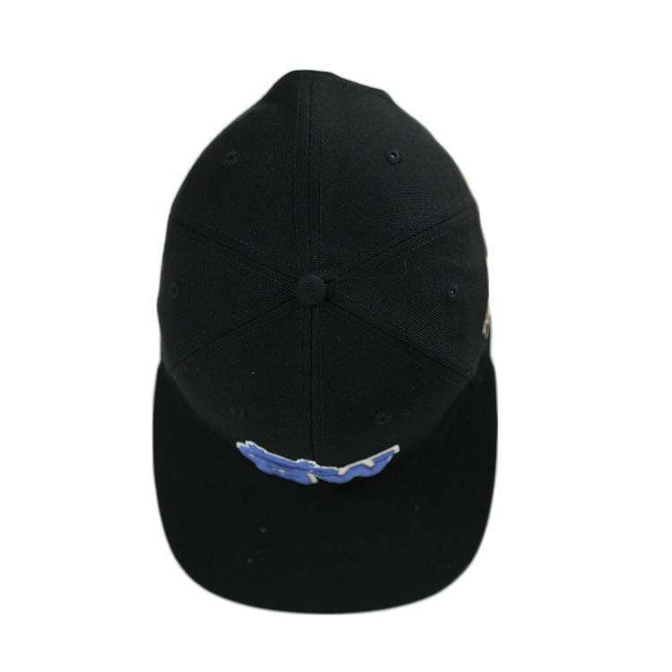 Flat Bill Visor Classic Snapback Hat Blank Adjustable Brim High Top End Trendy Color Style Plain Tone Baseball Cap