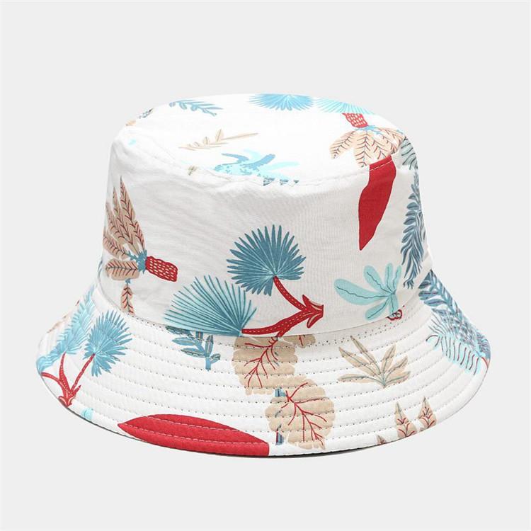 Unisex Prints Bucket Hat for Women Men Girls, Sun Uv Protection Print Hats Summer for Beach Outdoor Travel Fishing