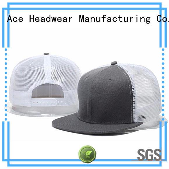 ACE solid mesh classic trucker cap OEM for Trucker