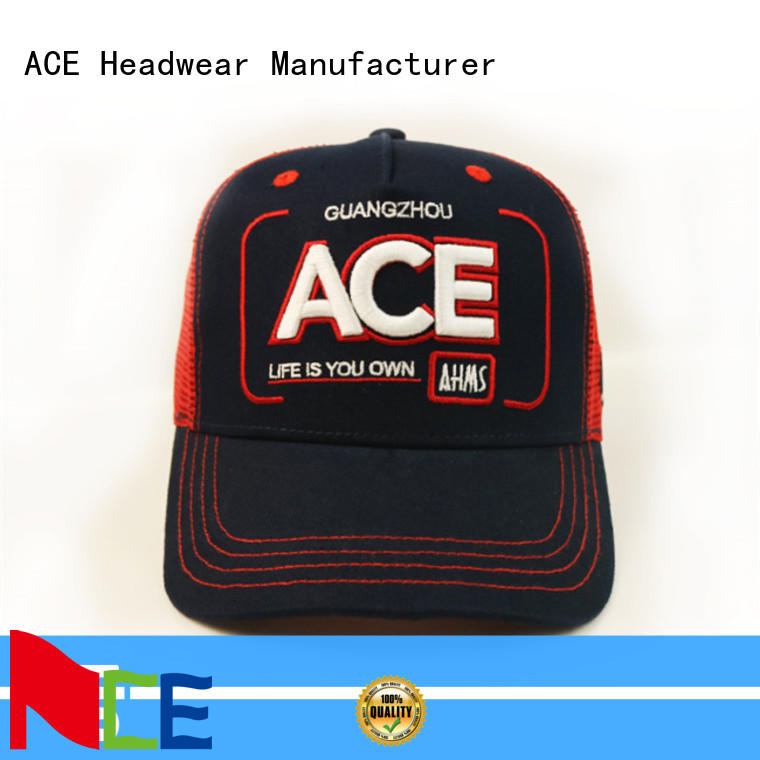 ACE portable cool trucker caps for wholesale for Trucker