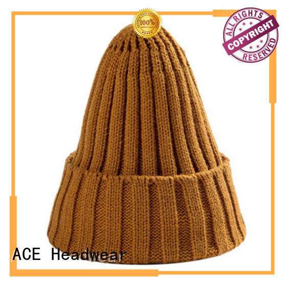 ACE on-sale knit beanie mens OEM for beauty