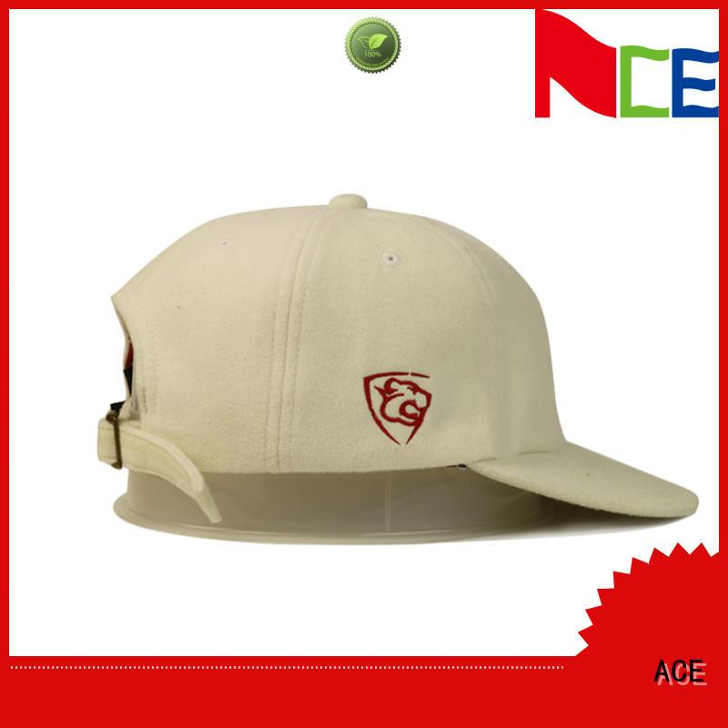 ACE unisex kids baseball caps bulk production for fashion