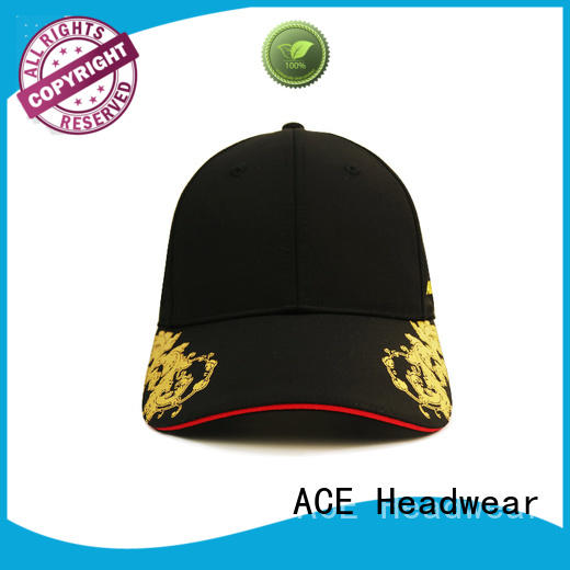 ACE 58cm white baseball cap get quote for fashion