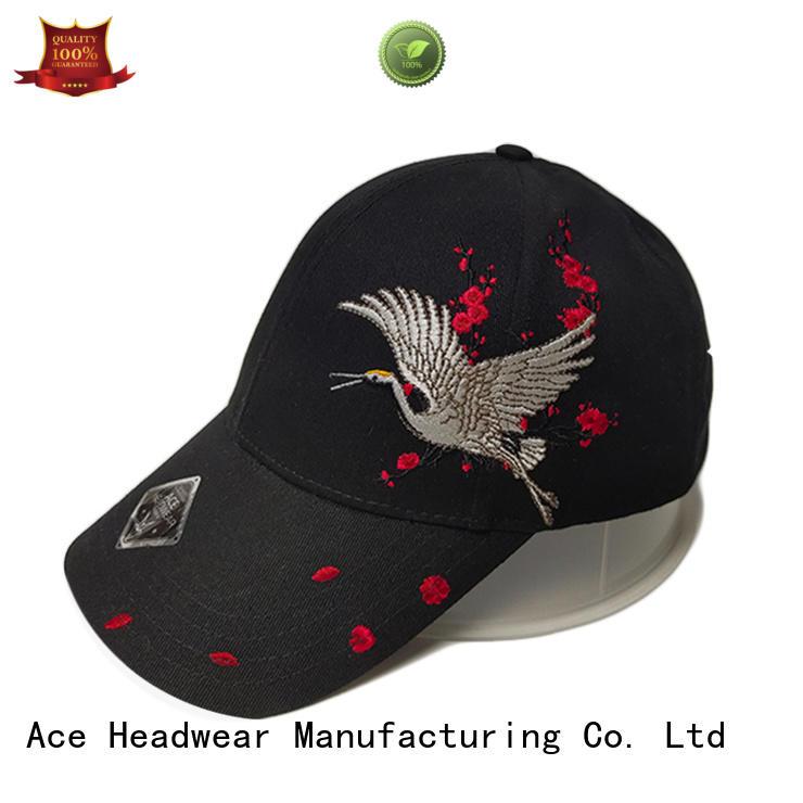 ACE durable custom baseball caps supplier for baseball fans