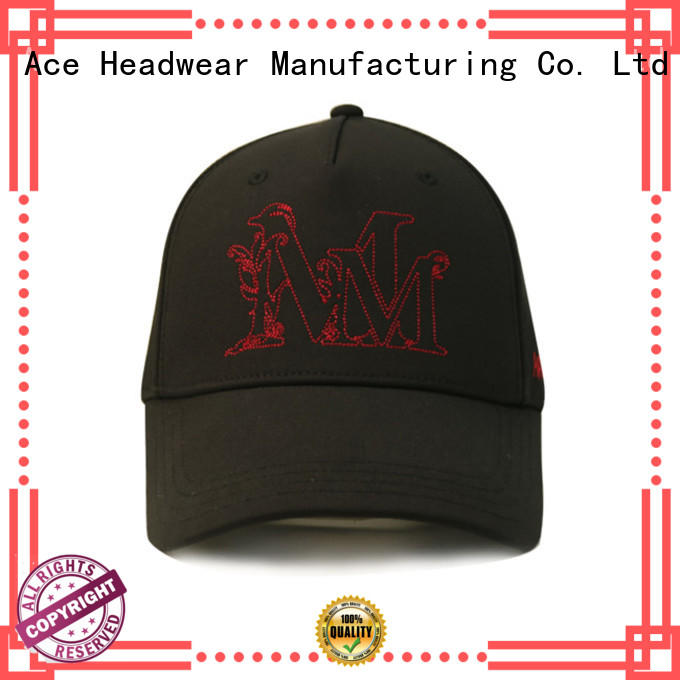 ACE Breathable baseball caps for men customization for fashion