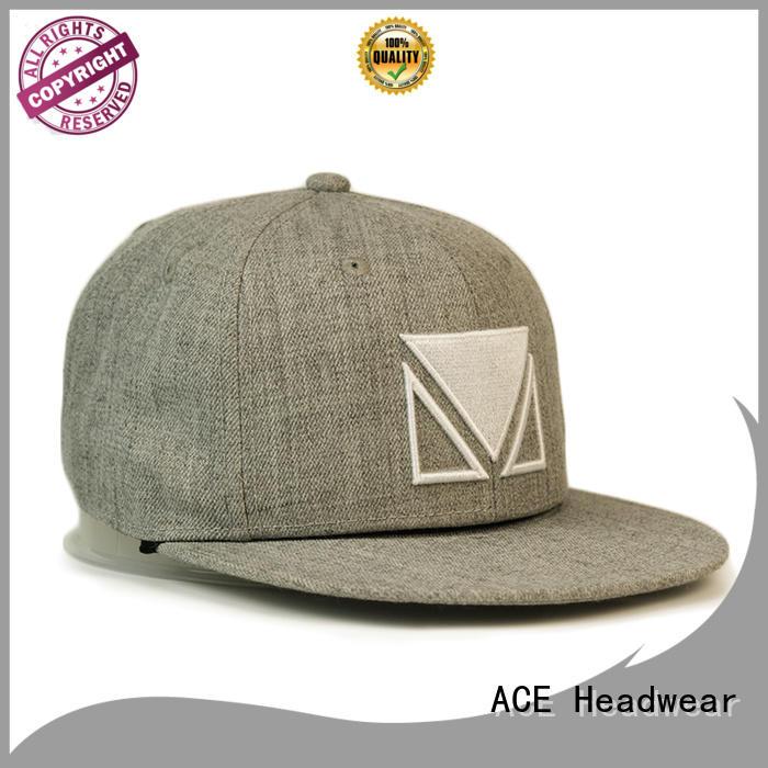 ACE tiger mens black snapback hats ODM for beauty
