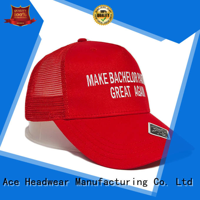 ACE solid mesh outdoor cap buy now for fashion