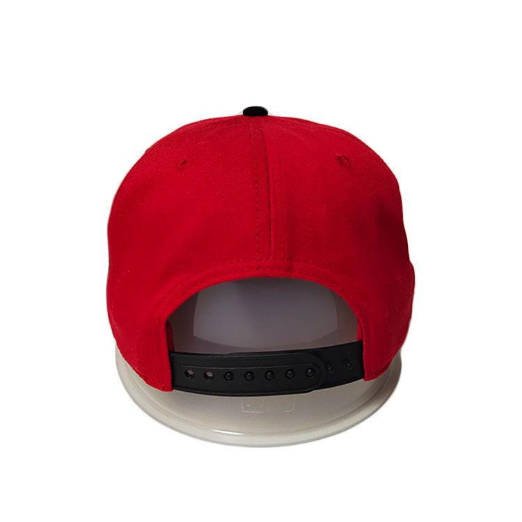ACE panel black snapback cap get quote for fashion-3