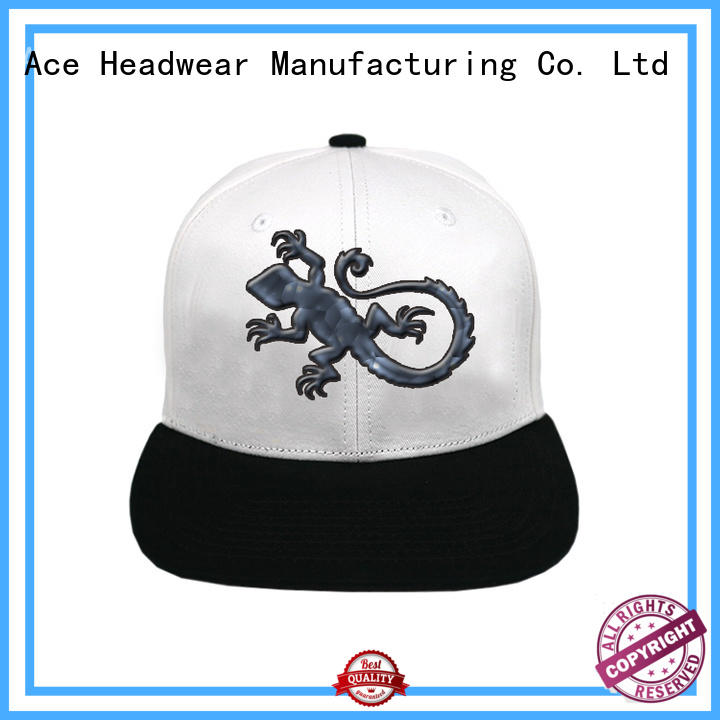 ACE high-quality custom snapback caps for wholesale for fashion