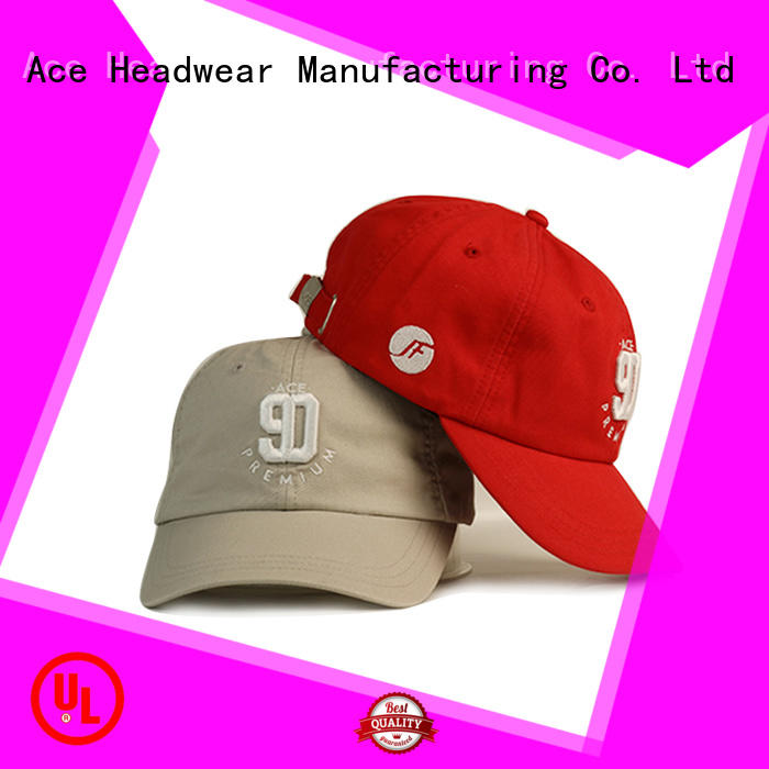 ACE leather womens baseball cap for wholesale for baseball fans