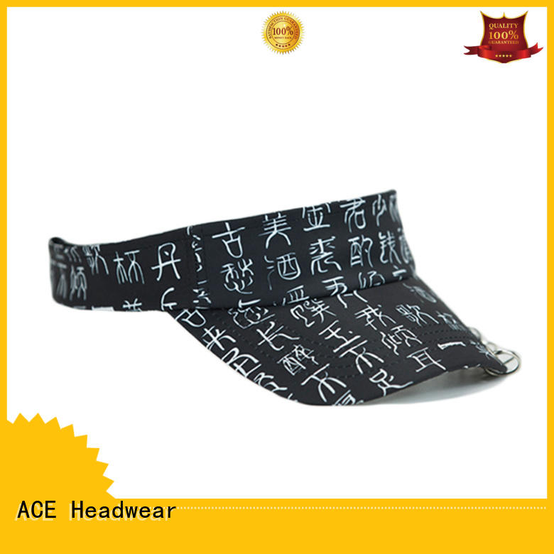 Breathable personalized sun visor hats sun get quote for fashion