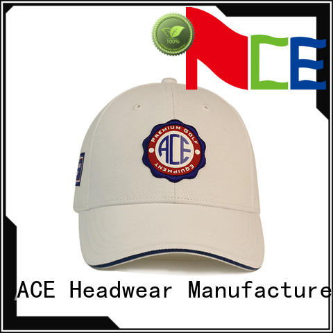 ACE at discount cool baseball caps free sample for fashion