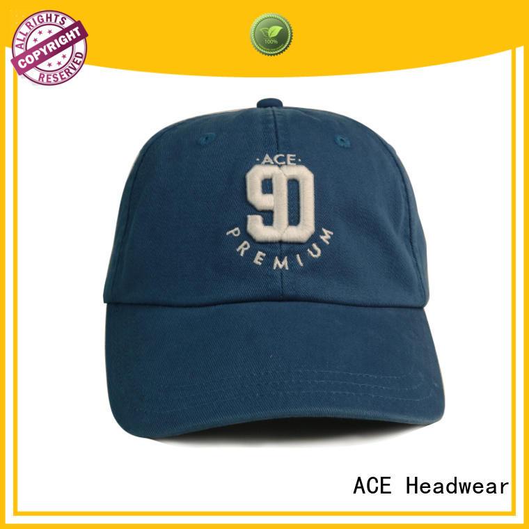ACE high-quality sports baseball cap OEM for beauty