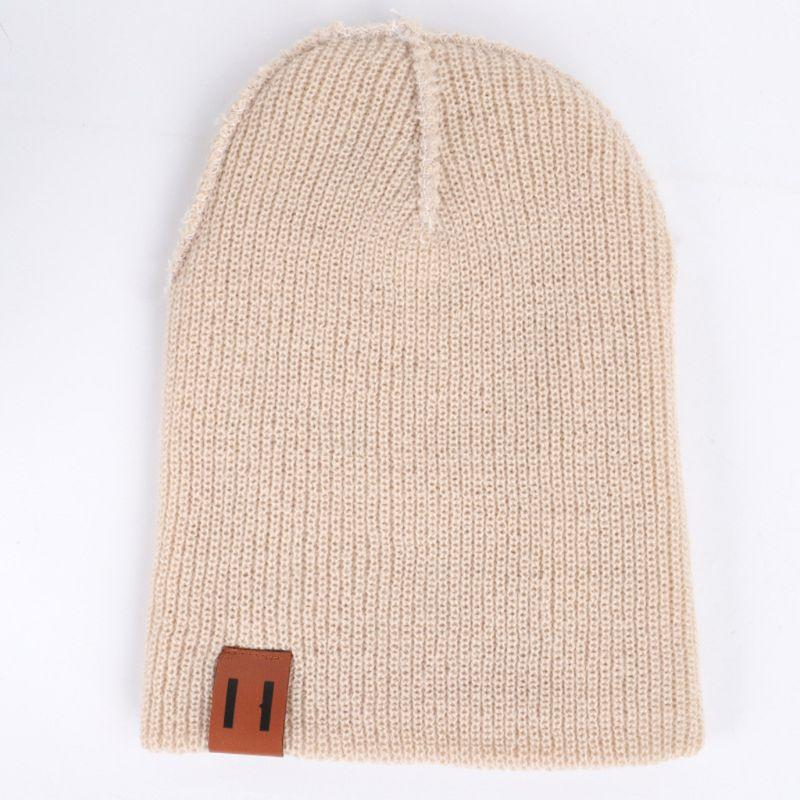 funky grey knit beanie beanies customization for beauty-2