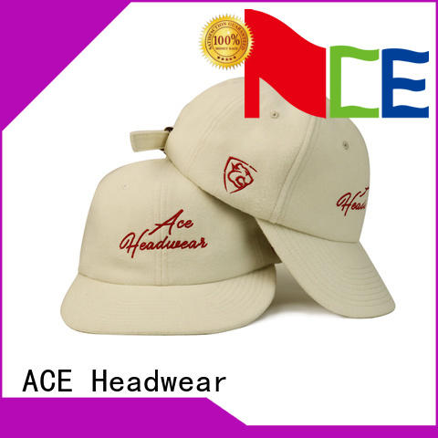 ACE high-quality plain baseball caps for wholesale for baseball fans