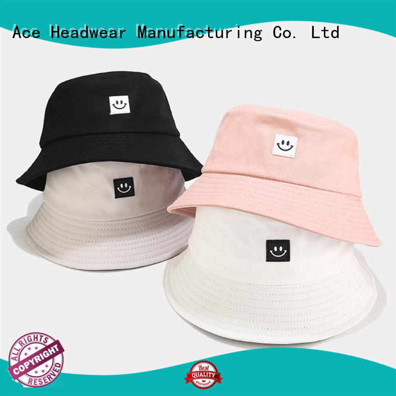 ACE latest black bucket hat buy now for beauty