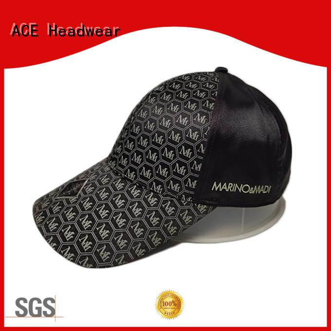 ACE odm plain baseball caps bulk production for beauty