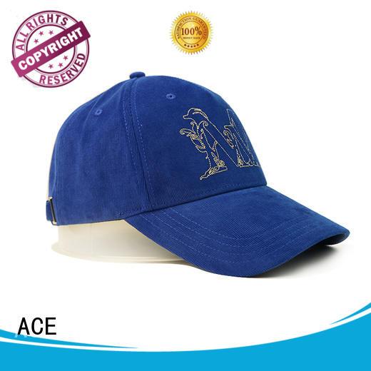 ACE funky sequin baseball cap OEM for baseball fans