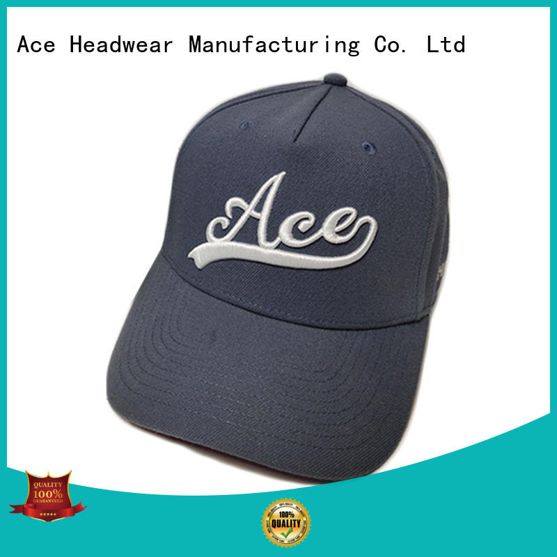 ACE funky fitted baseball caps customization for baseball fans