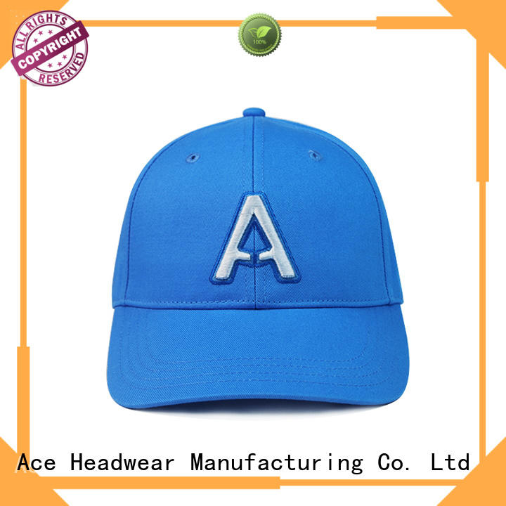ACE high-quality logo baseball cap OEM for beauty