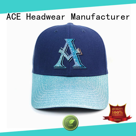 ACE unisex black baseball cap get quote for beauty