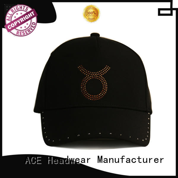 ACE portable types of baseball caps free sample for fashion