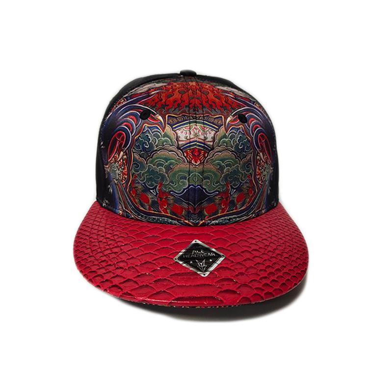 funky blue snapback hat blank free sample for beauty-1
