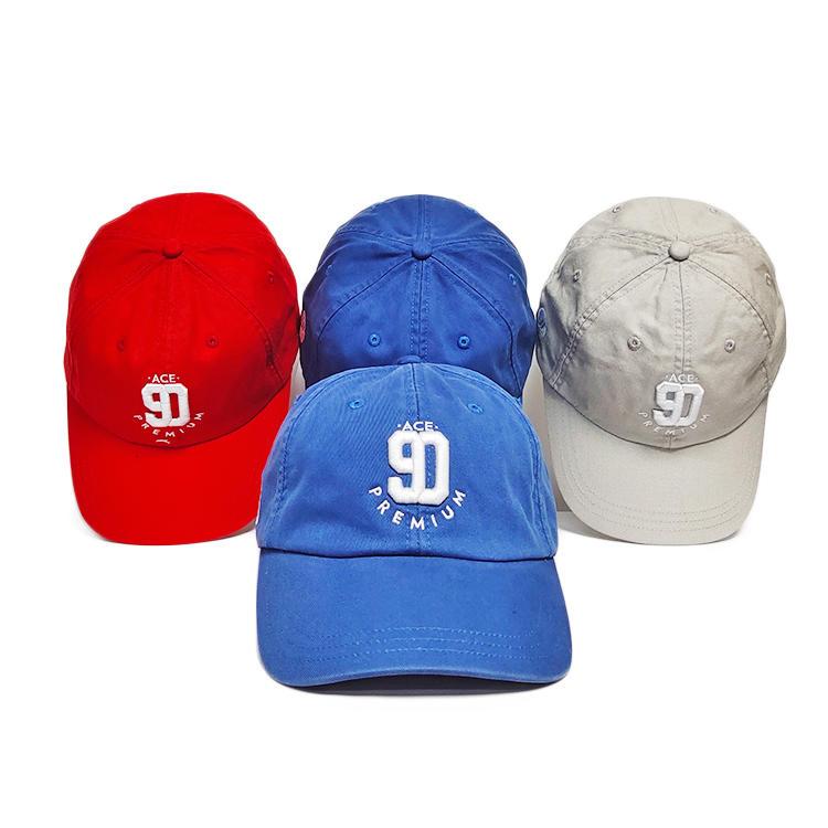 ACE durable black baseball cap bulk production for baseball fans-3